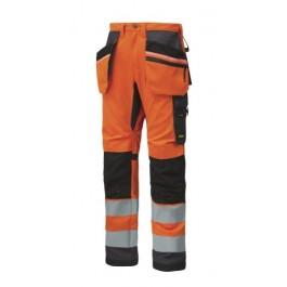6330  Pantalon haute visibilité ALL ROUND avec poches holster, Classe 2