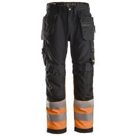 6233 Pantalon haute visibilité avec poches holster all round Classe 1
