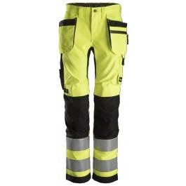 6730  Pantalon haute visibilité ALL ROUND FEMME avec poches holster, Classe 2
