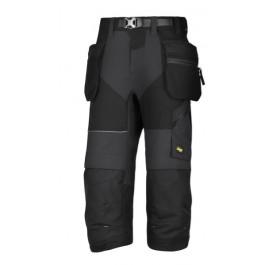 6905 pantacourt flexi work avec poches holster