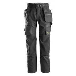 6923 Pantalon plus pour poseur de sols et cordistes avec poches holster, flexiwork