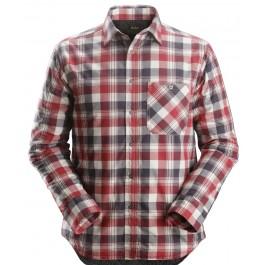 8501 chemise en flanelle matelassée ruffwork